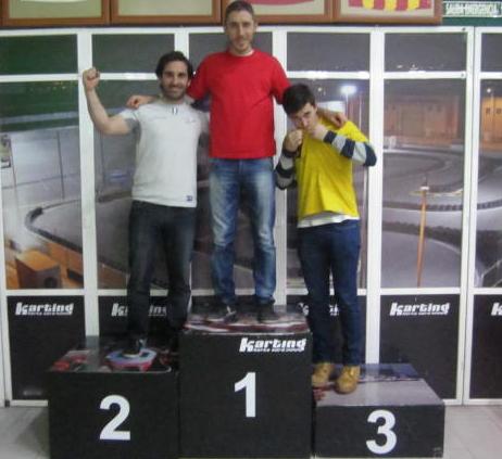 Podio GP 2 - L'Horta Nord