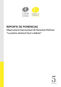 Reporte de ponencias
