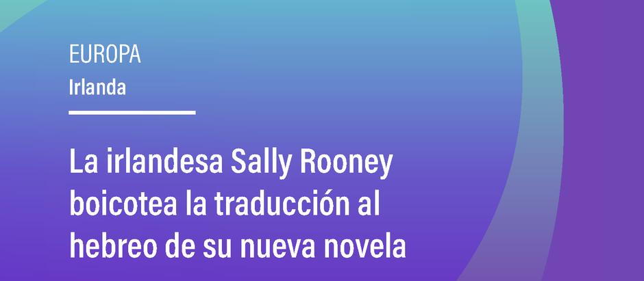 La irlandesa Sally Rooney boicotea la traducción al hebreo de su nueva novela