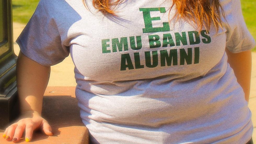 EMU Bands Alumni T-Shirt (Grey)
