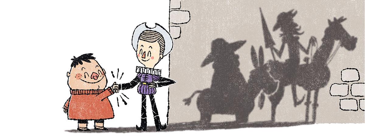 Don Quijote (o casi) de La Mancha