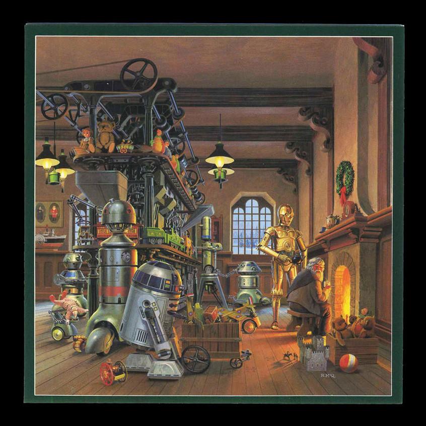 Holiday Card - 1980 by Ralph McQuarr
