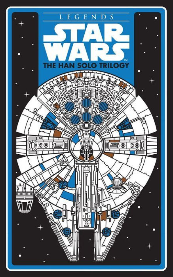 B&N Han Solo Trilogy Cover