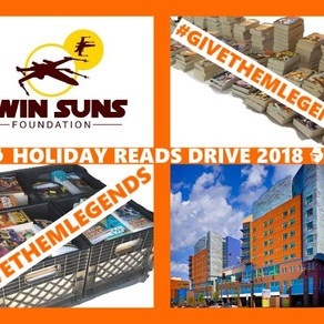 TSF donation announcement: Holiday Reads Drive 2018