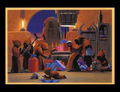 Holiday Card - 1994 by Ralph McQuarr