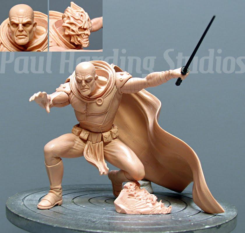 """Darth Bane - 6"""" maquette 2012"""