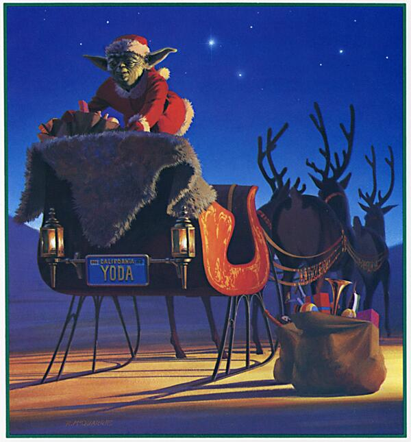 Holiday Card - 1982 by Ralph McQuarr