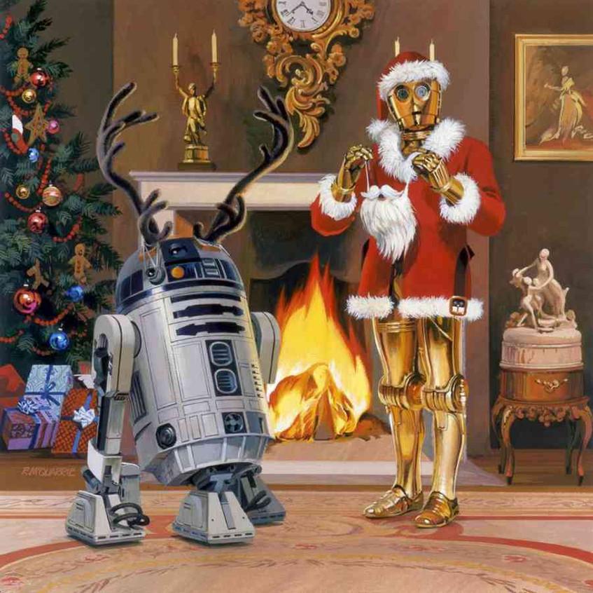 Holiday Card - 1979 by Ralph McQuarr