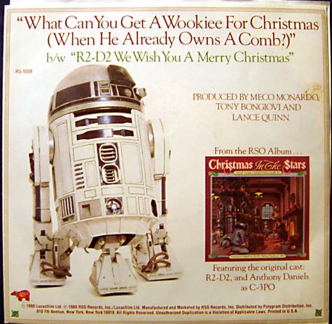 LP single R2-D2 Cover art