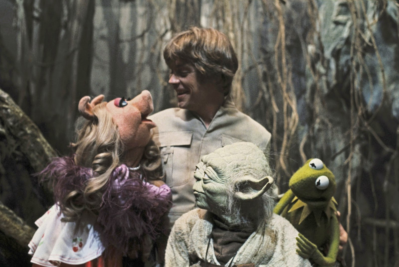 'The Muppets' Visiting Dagobah, 1979.