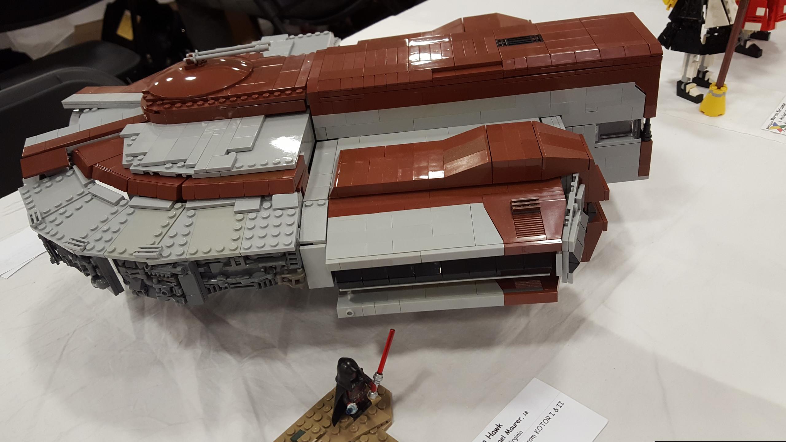 Ebon Hawk Lego Model