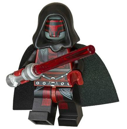 Retired Lego Darth Revan Mini Figure