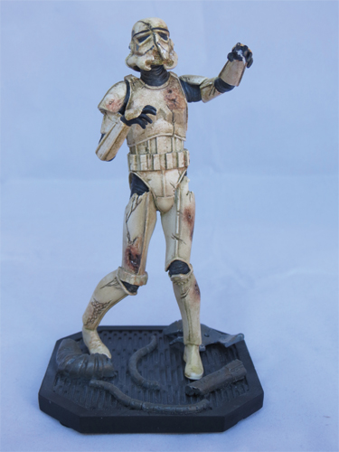 "Death Trooper - 6"" maquette 2012"