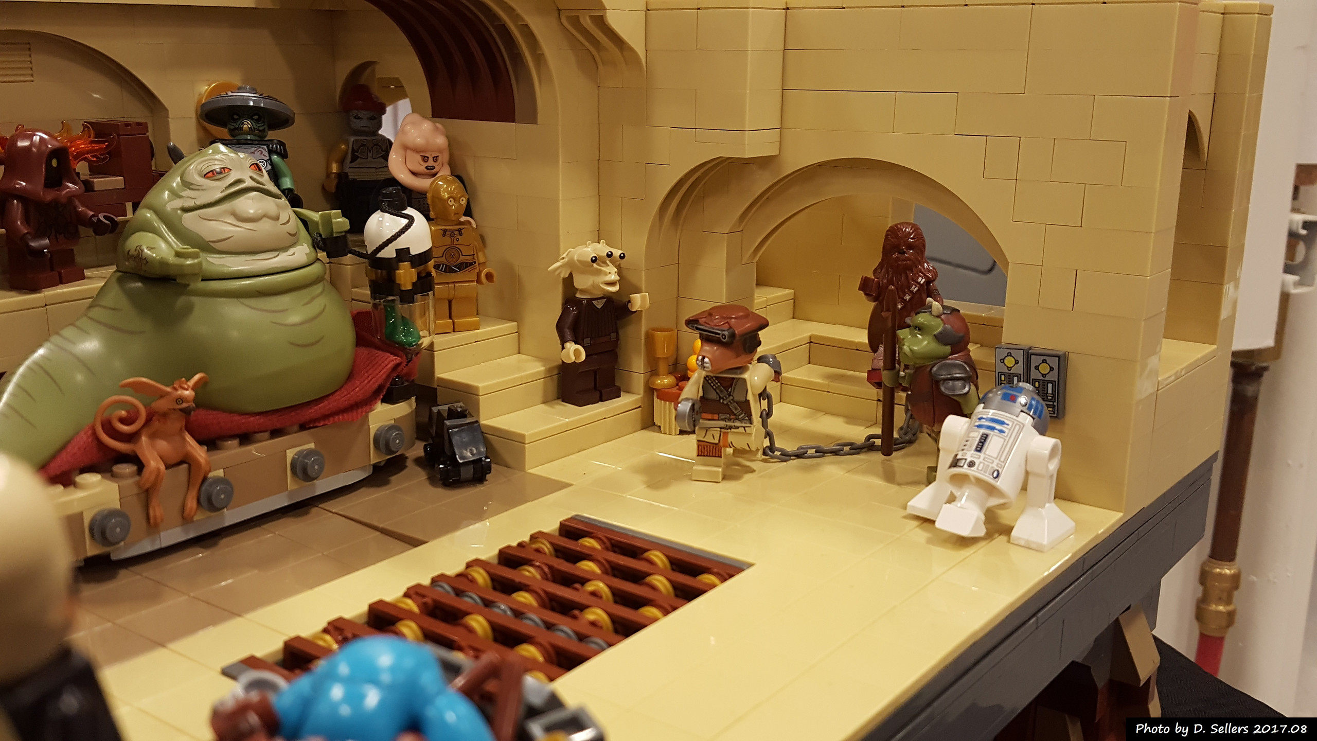 Large Jabba's Palace model