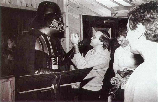 Darth Vader Visits Album recording