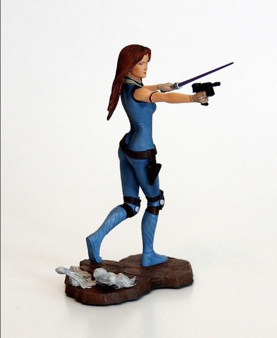 "Mara Jade- 6"" maquette 2012"