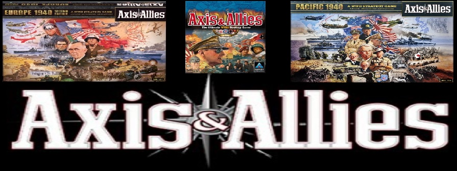 Axis and Allies (Hasbro 1998)