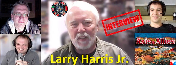 Larry Harris Jr A&A Interview Banner mit