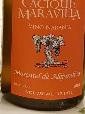 Botella Vino Naranja 2019