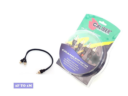 CALIBER CRANKER SERIES 2F TO 1M RCA CABLE