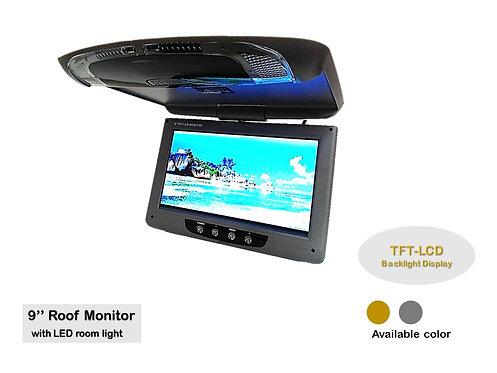 TKC 9'' TFT-LCD ROOF MONITOR (GREY)