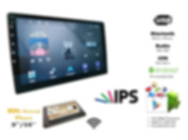 ANDROID 10.1'' 4G GPS BIG SCREEN PLAYER, 2+32 GB