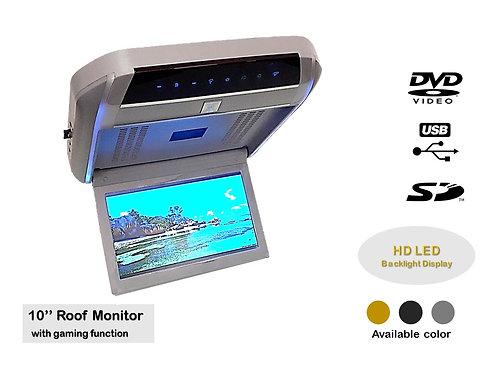 TKC 10'' HD LED DVD/USB/SD/MP3 MP4 ROOF MONITOR