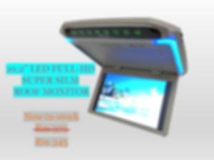 10'' LED FULL-HD SUPER SILM ROOF MONITOR (GREY)