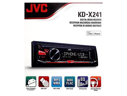 KD-X241 JVC FM USB PLAYER