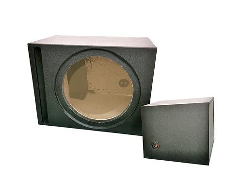 10'' SQUARE 3/4'' - TICK SINGLE WOOFER BOX (PVC)