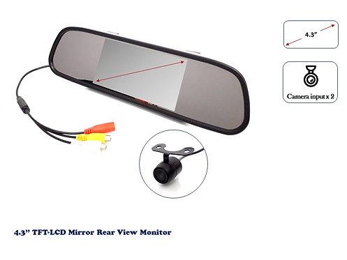TKC TFT LCD 4.3'' REAR VIEW MIRROR MONITOR