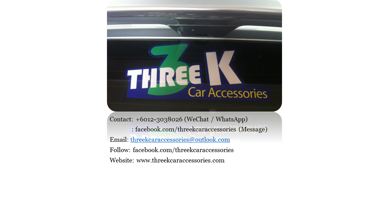 Logo THREE K CAR ACCESSORIES, 3, On (2).png