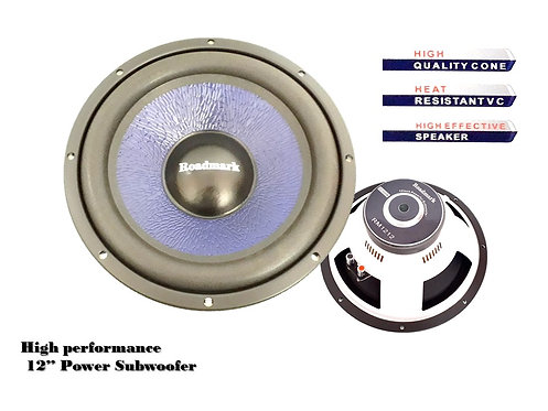 ROADMARK 12'' SUBWOOFER, RMS Power 300 Watts