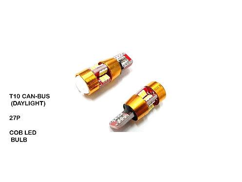 T10 CAN-BUS (DAYLIGHT) 27P 12V LED BULB