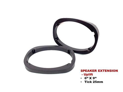 TAC 6'' X 9'' FLAT FACE SPEAKER EXTENSION, Uplift
