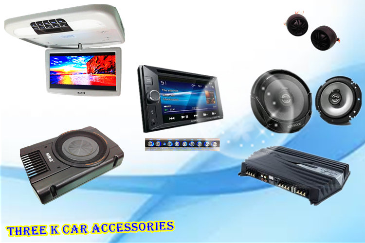 three k car accessories