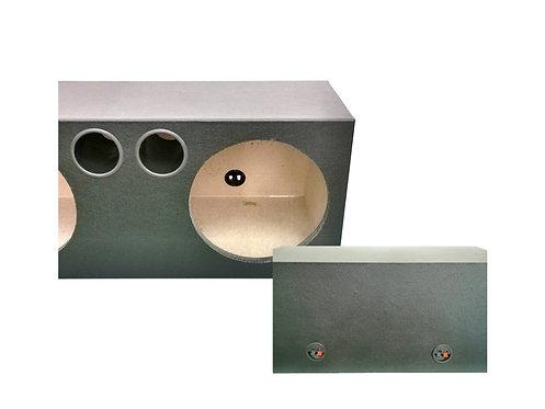10'' ROUND 3/4'' - TICK DOUBLE WOOFER BOX (PVC)