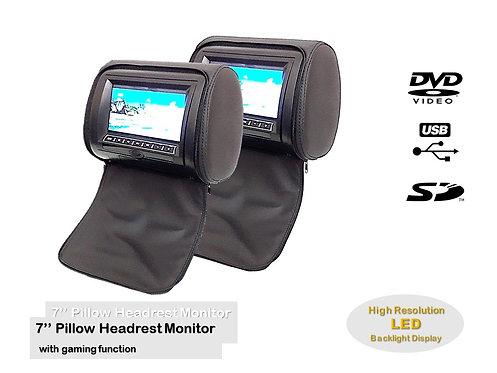 TKC 7'' DVD/SD/USB/GAME HEADREST PILLOW MONITOR