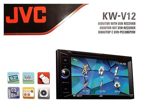 KW-V12 JVC 6.2'' DVD USB DOUBLE DIN PLAYER