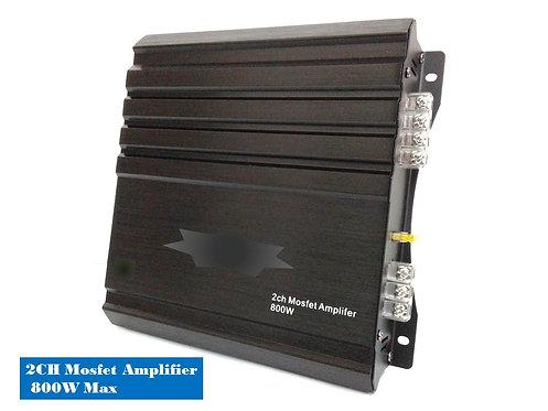 TKC 2CH CLASS AB AMPLIFIER, MAX POWER 800 WATTS