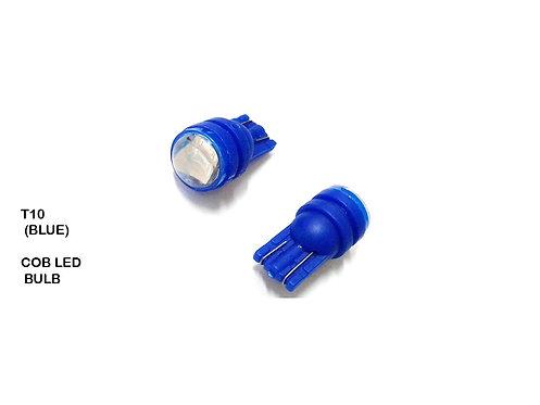 T10 (BLUE) 2P 12V COB LED BULB