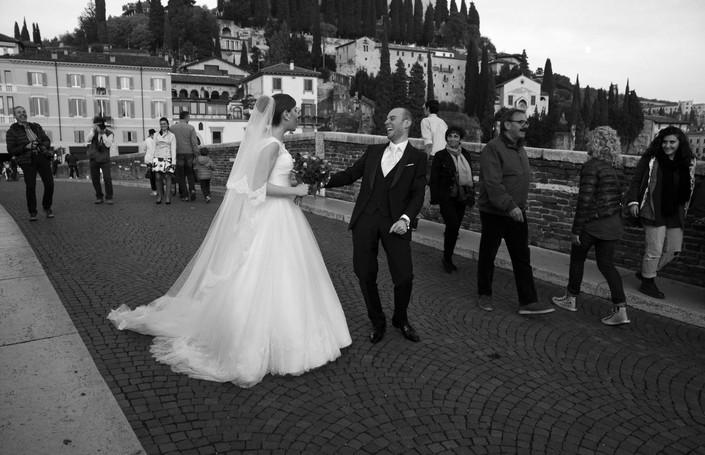 La sposa che arrossisce