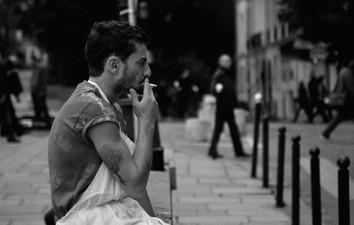 Pause-cigarettes, Île Saint-Louis