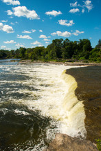Falls at Campbellford - by Theo