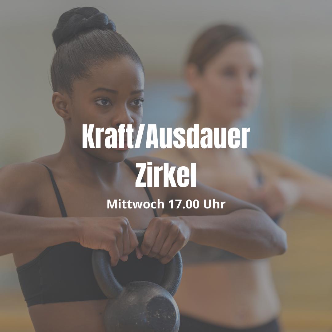 Kraft/Ausdauer Zirkel Mittwoch 17.00 Uhr