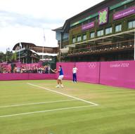 Novak Djokovic plays!