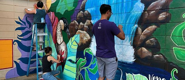 Hanalani Schools Murals