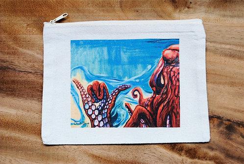 Canvas Pouch-Shakactopus