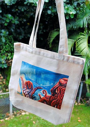 Canvas bag- Shakactopus