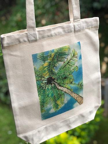 Canvas bag- Coconut Tree